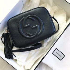 ❤️Authentic Gucci Disco Soho Bag Black